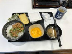 吉野家の納豆朝食