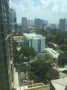 ベトナム(ホーチミンシティ)の眺め