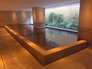 ハイアットリージェンシー箱根の朝風呂