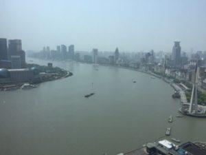 朝の上海(外灘)