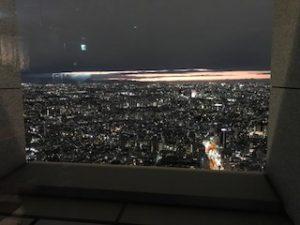 新宿オペラシティからの夜景