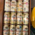 お中元のビール