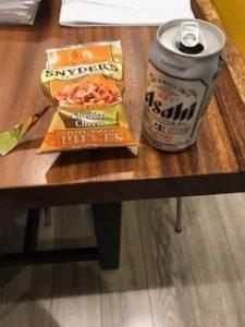 ビールに合うおつまみスナイダーズ