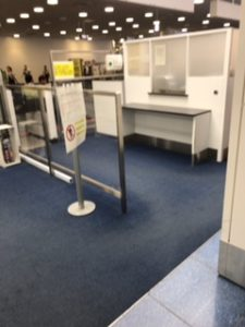 羽田空港国際線の出国審査