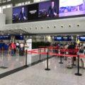 成都空港の出発ロビー