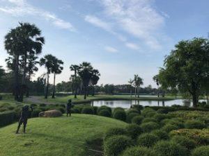 綺麗なタイのゴルフ場