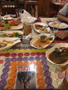 タイ料理レストランで満腹
