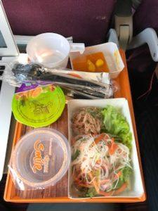 タイスマイルエアラインの機内食