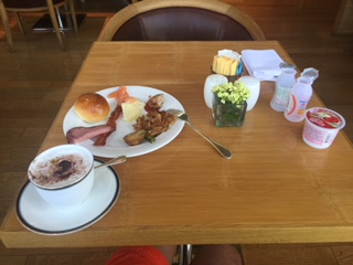 ハイアットの朝食