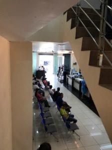 ミャンマーのKBZ銀行内