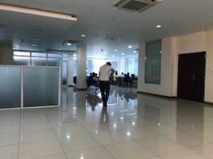 KBZ銀行2階で口座開設
