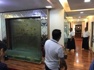 ミャンマーの宝石のマイニング会社