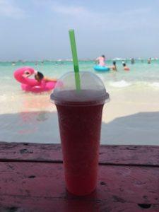 タイの名物スイカジュース