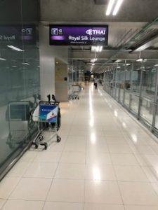 タイ航空のロイヤルシルクラウンジ