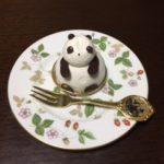 上野駅で買ったパンダのお菓子