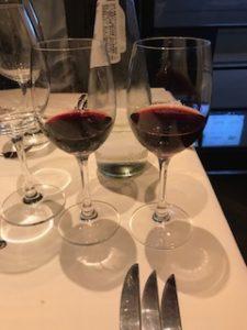 赤ワイン飲み比べ