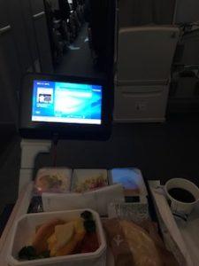 ANAの機内