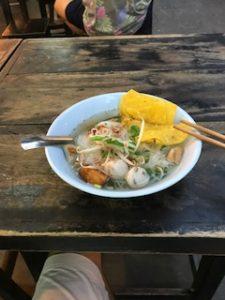 タイの美味しいラーメン
