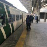 東京駅の踊り子号