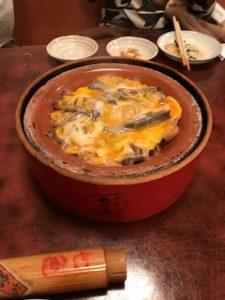 有名な柳川鍋