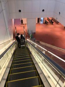羽田空港で国際線から国内線へ