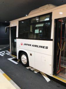 国際線ターミナルから国内線ターミナルへの循環バス