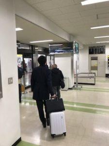 三沢空港荷物受け取りロビー