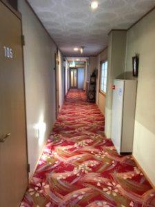 温泉旅館松園の廊下