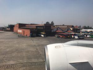 カトマンズの国内線ターミナル