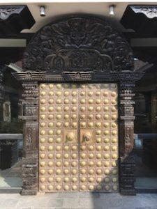 カトマンズのハイアットリージェンシーの門