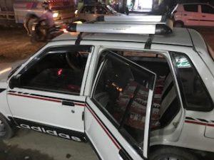 カトマンズのタクシー乗車