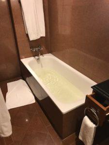 カトマンズのハイアットのバスルーム