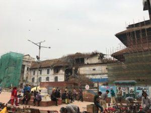 ネパールのお寺