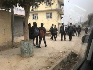 ネパールの学生