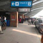カトマンズの空港