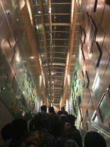 ムンバイ空港でトランジット中