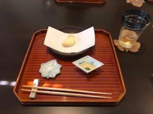 今日の揚げたて天ぷら