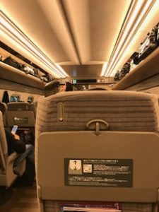 普通の新幹線指定席