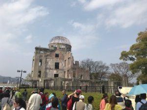 原爆ドーム正面