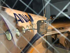 広島空港にてA320搭乗直前