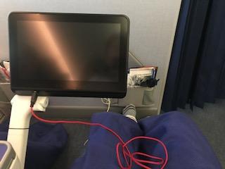 機内でのトラブル