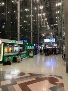 バンコク空港到着ロビー