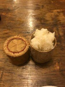 タイのもち米料理カオニアーオ