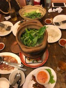 イサーン料理のレストラン