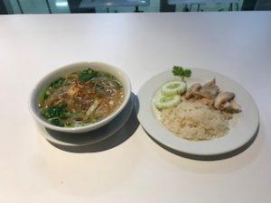 タイのラーメンとカオマンガイ
