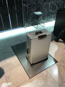 預けるスーツケース