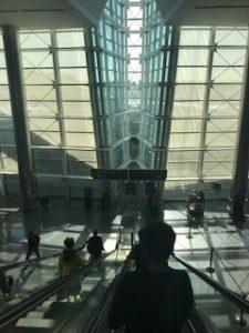 ヒューストン空港でトランジット