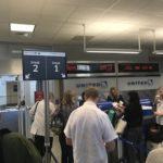 ヒューストン空港搭乗口