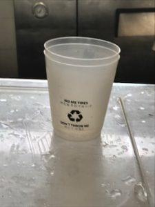 面白いカップ