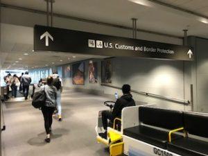 デンバーの空港